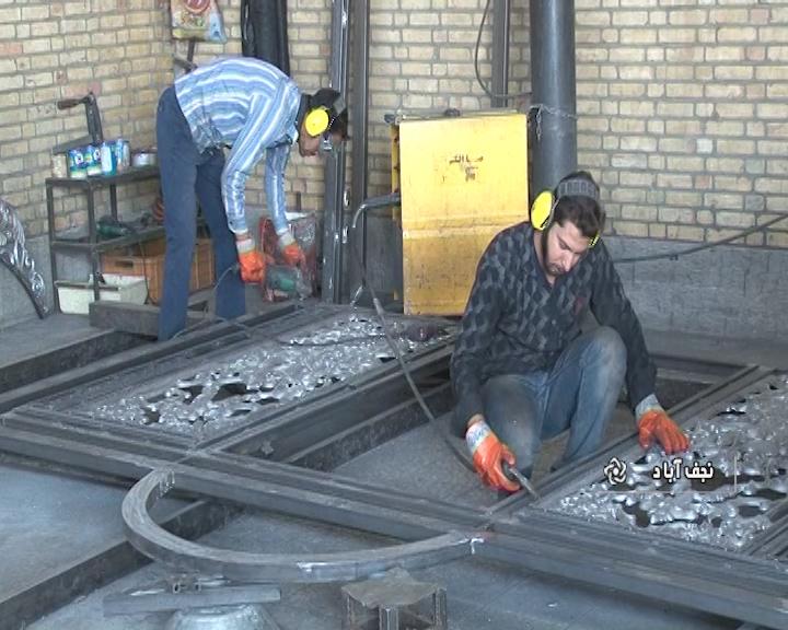 تولید در و پنجره در نجف آباد